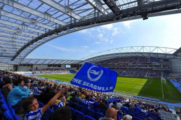 The Amex Stadium - Brighton's magnificent new home