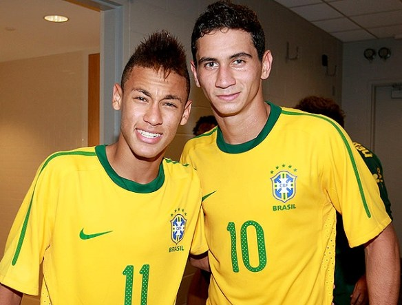 Can the young talents of Neymar and Ganso inspire Brazilian success in 2014?
