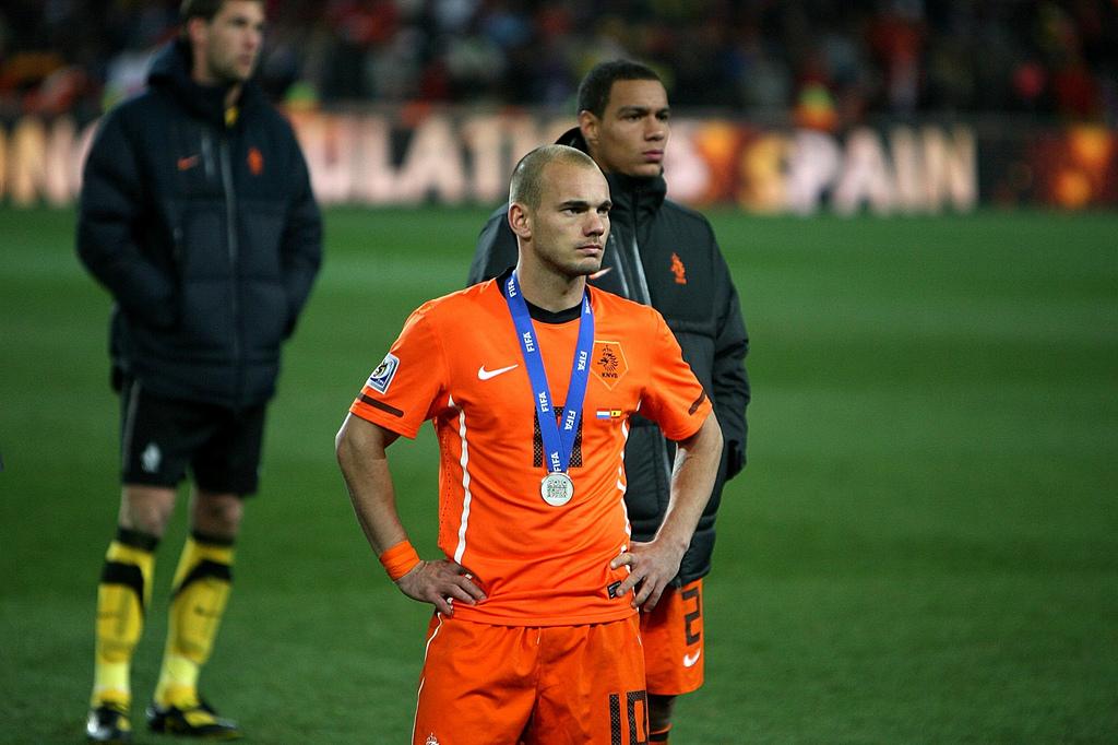 Resultado de imagen para Wesley Sneijder 2010