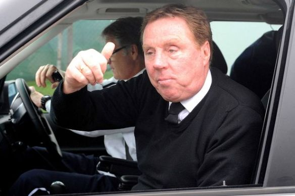 Harry+Redknapp++looks+happy+as+he+leaves+the+club+training+ground+in+Chigwell+today+amid+speculation+that+David+Beckham+is+joining+the+team+on+a+three+month+loan+deal+from+LA+Galaxy,+January+2011