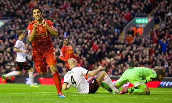 Football - FA Premier League - Liverpool FC v Fulham FC