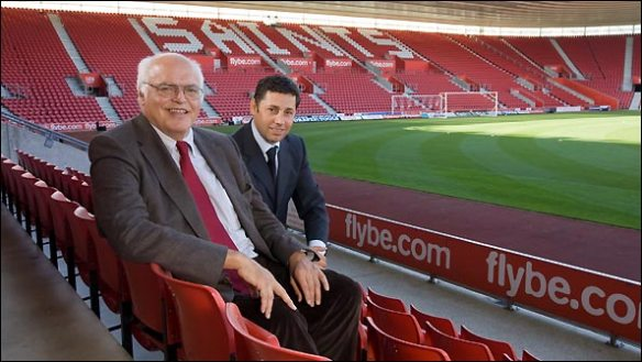 Markus Liebherr and Nicola Cortese