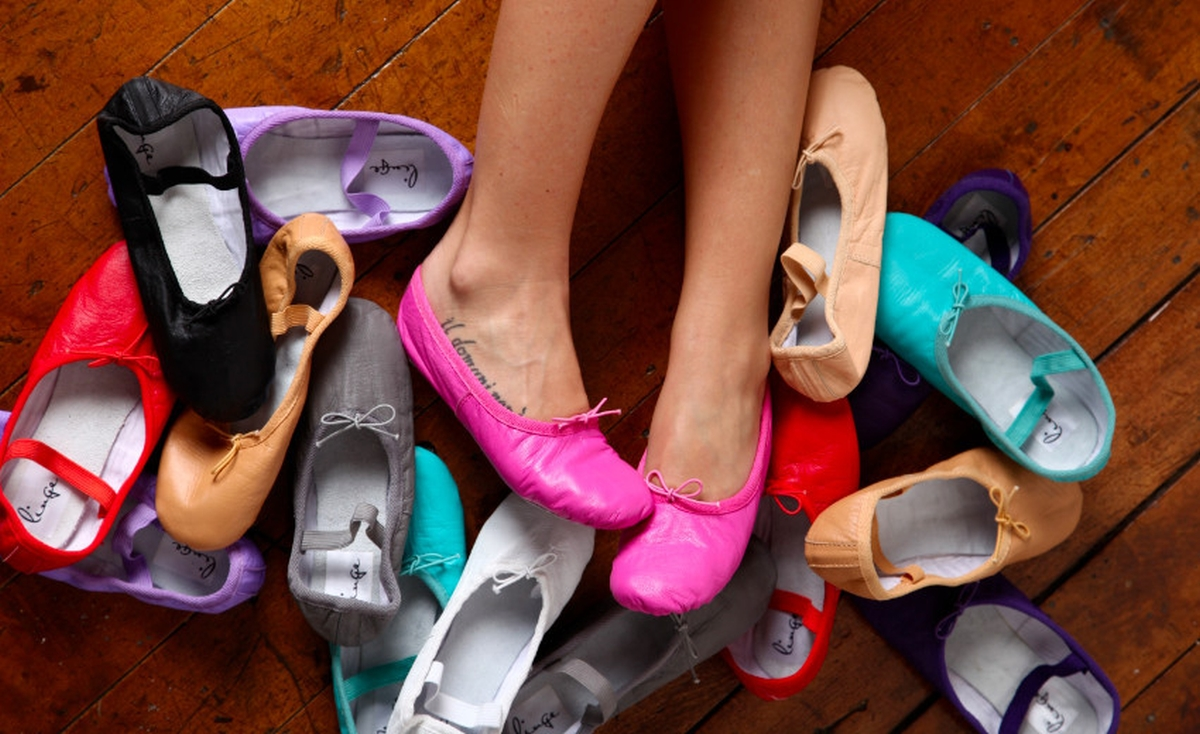 Today39s Outfit Linge Ballet Shoes The Fashionable Housewife
