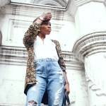 vintage beaded jacket -african fashion blog