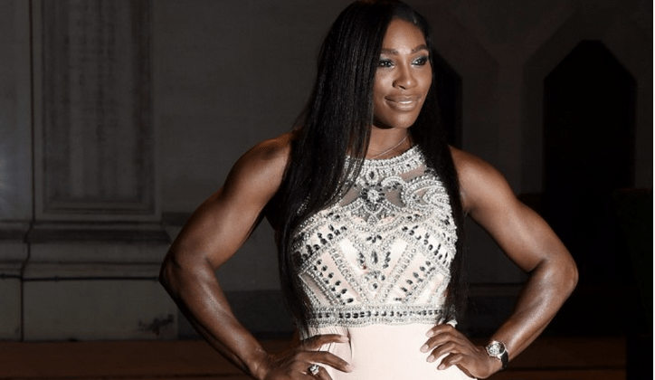 SERENA WILLIAMS AT THE WIMBLEDON CHAMPIONS DINNER