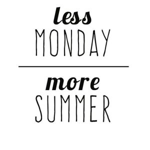 Appropriate for today! Happy first day of Summer summer mondayhellip