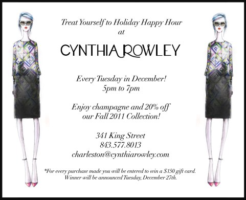 Happy Hour at Cynthia Rowley