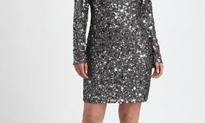 Aidan Mattox plus size sequin dress
