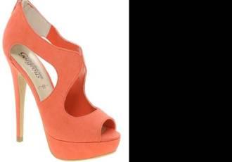 New Look Stefano Cut Out Platform Shoes
