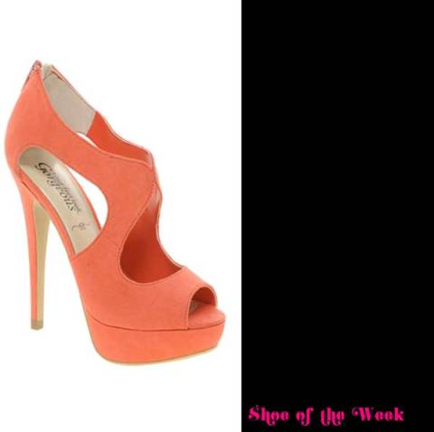 New Look Stefano Cut Out Platform Shoes