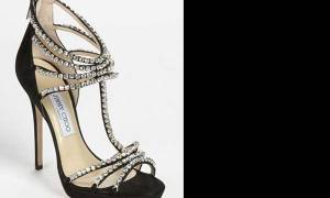 Jimmy Choo Black Kera Platform Sandal