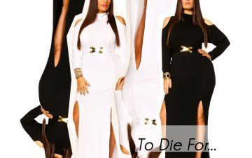 To Die For- Monif C &#8220;Eva&#8221; Dress