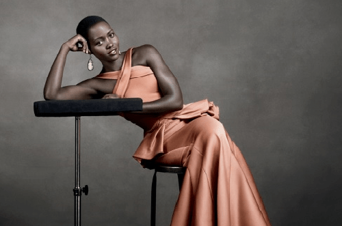 Lupita Nyong'o in November 2013 Vogue