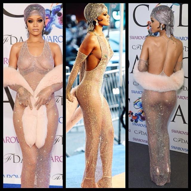 Rihanna CFDA Dress