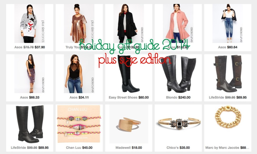 holiday gift guide plus size