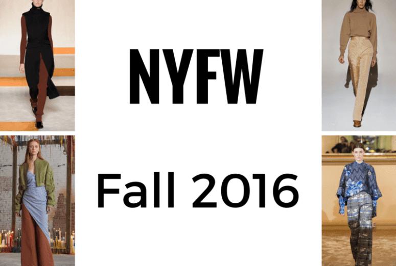 NYFW FALL 2016