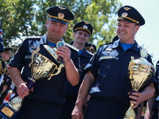 Crimean leg of 2016 Aviadarts military aviation competition: closing day