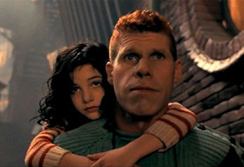 "Judith Vittet is Miette and Ron Perlman is One in ""The City of Lost Children,"" a 1995 release directed by Jean-Pierre Jeunet and Marc Caro."