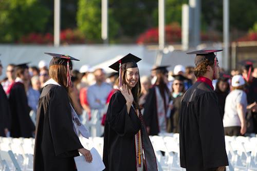 Chapman University Graduation 2012