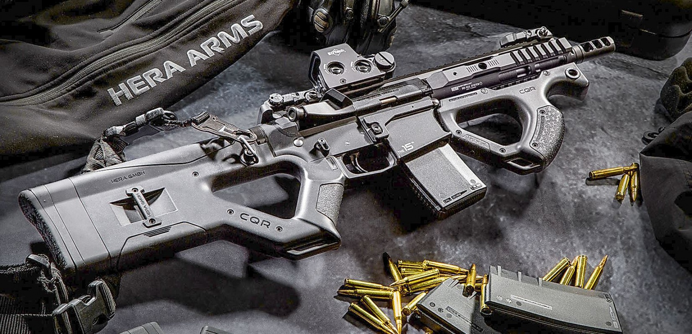 Hera arms cqr stock and cqr front grip the firearm blogthe firearm blog