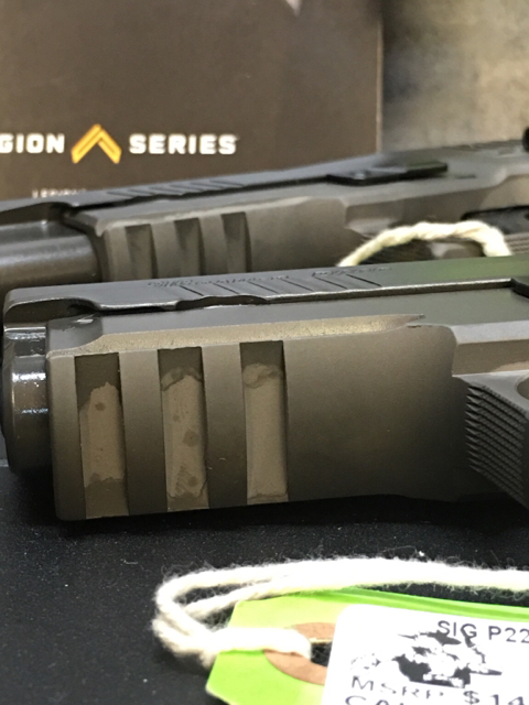 Sig Sauer Legion Pvd Finish Concerns - The Firearm Blogthe Firearm