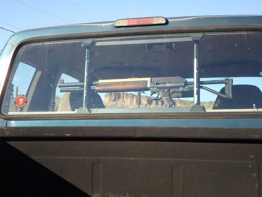 Potd Weird Franken Gun In Pickup Truck Gun Rack The