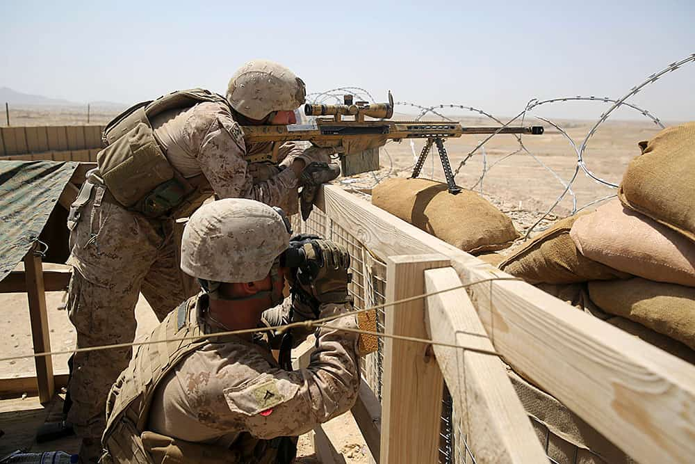 Dynamics of a Scout Sniper Platoon Part Two -The Firearm Blog