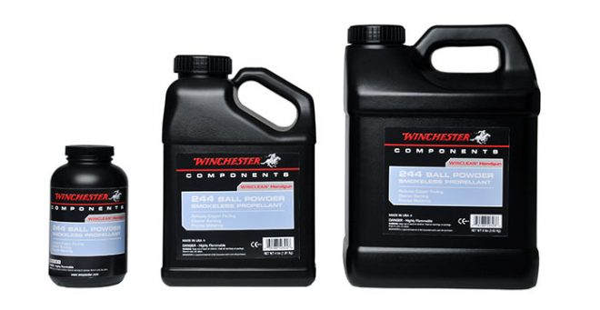 New Powder From Hodgdon Winchester WinClean 244 - The Firearm
