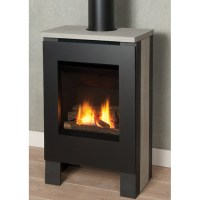 Freestanding Gas Stove Fireplace. Hearthstone Bari Direct ...