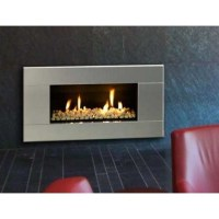 Buy Online | ST900 Gas Fireplace - Stainless Steel | San ...