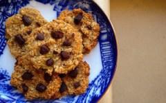 cookies d'avoine light