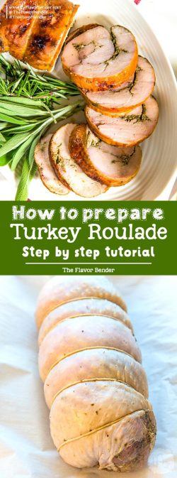 Pleasing Learn How To Make A Turkey Roulade Step By Step Instruction On How Repare How To Make A Turkey Roulade By Step Flavor Bender How To Carve A Turkey Breast Only How To Make A Turkey Breast On G