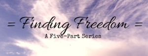 Finding Freedom page