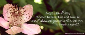 showers his grace