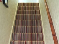 Striped Stair Carpet