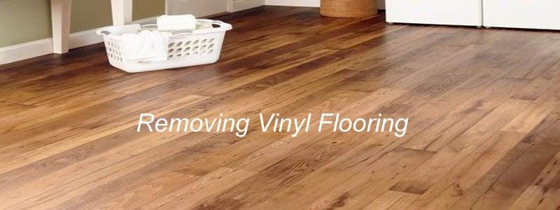 Removing Vinyl Flooring The Flooring Lady