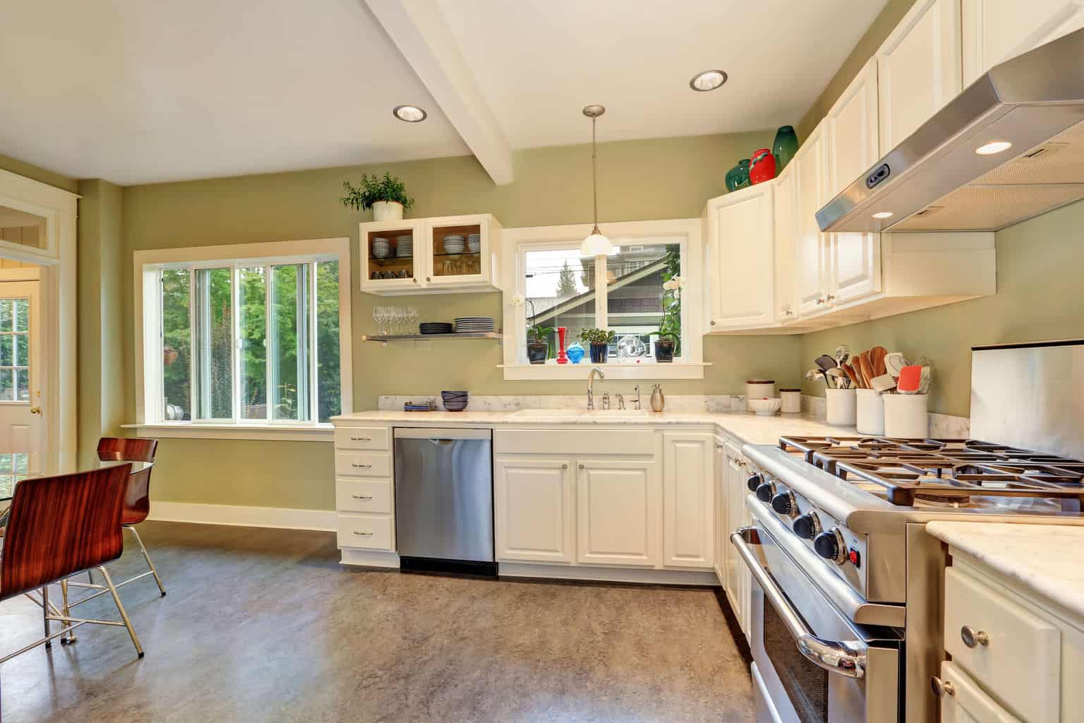 kitchen linoleum flooring linoleum kitchen flooring Making repairs in your linoleum is easy in comparison to vinyl or hardwood simply fill any gashes with a mix of wood glue and saw dust and paint to match