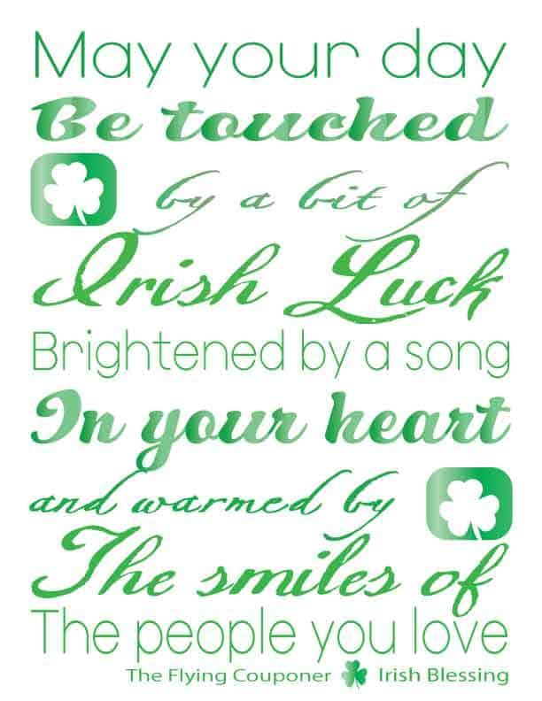 St-Patrick's-Day Free Printable with The Flying Couponer