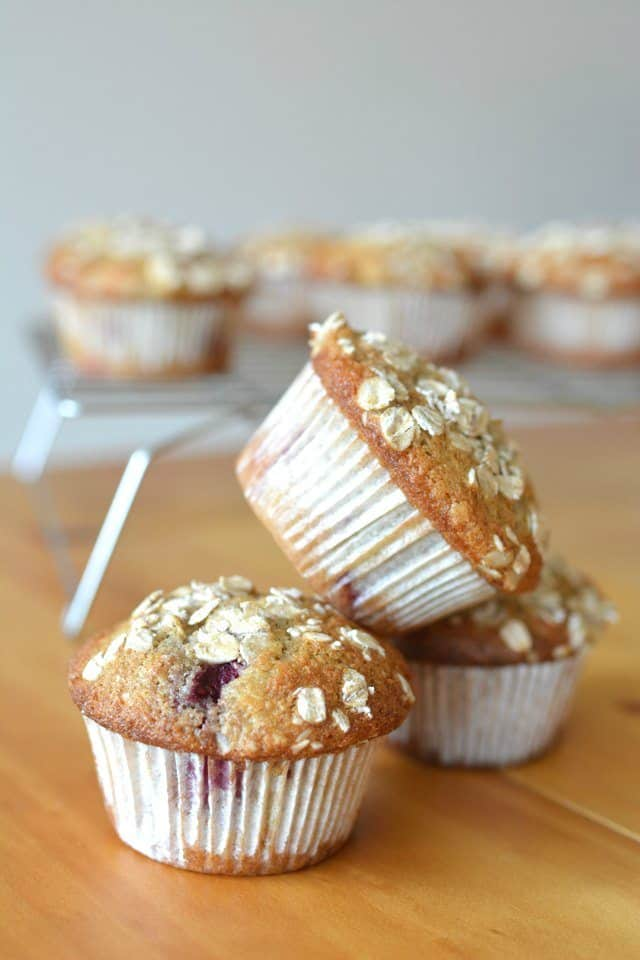21 Healthy Breakfast Recipes. Muffins.