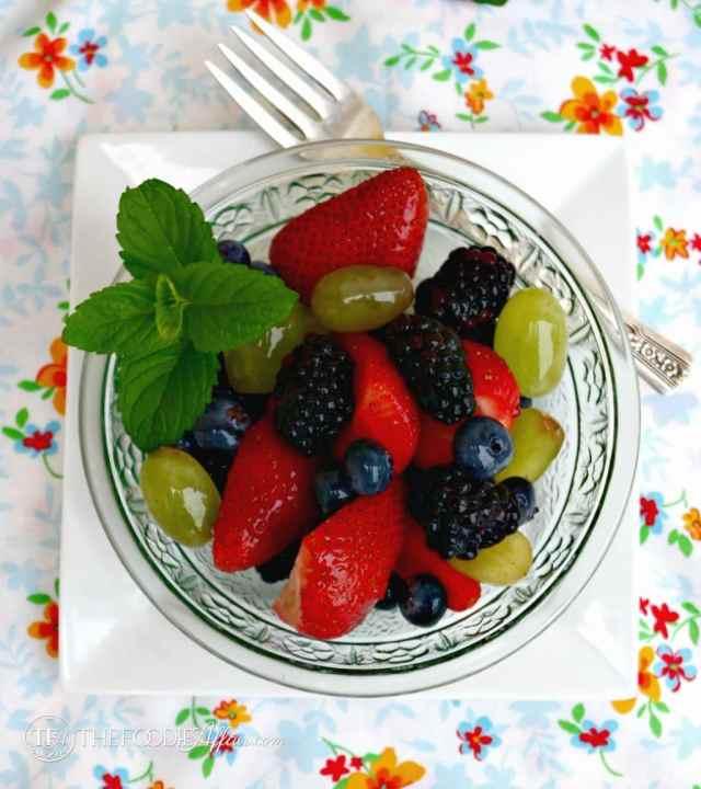 Fresh Fruit Salad - The Foodie Affair