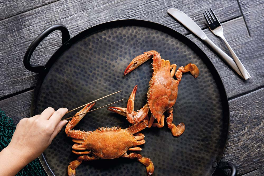 recipes cover story steamed crabs