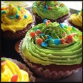 Lemmon and Lime frosted Cupcakes