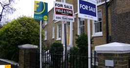 Property for sale in London, 2009