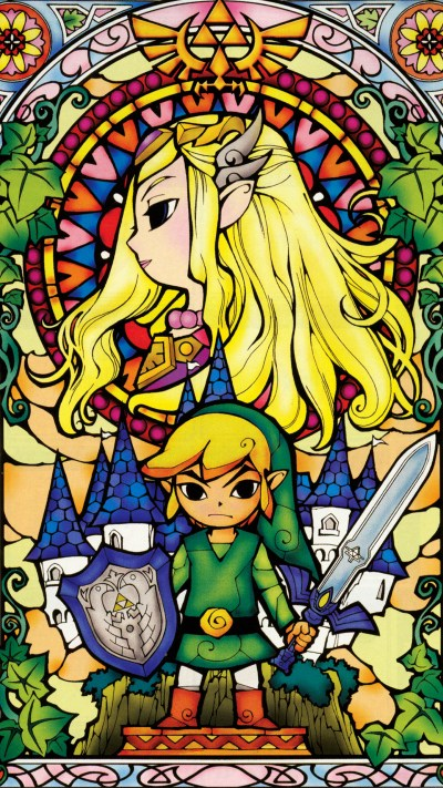 The Forgotten Lair | The Legend of Zelda Mobile Wallpapers