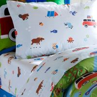 Olive Kids Camping Trip Sheet Set - The Frog and the Princess