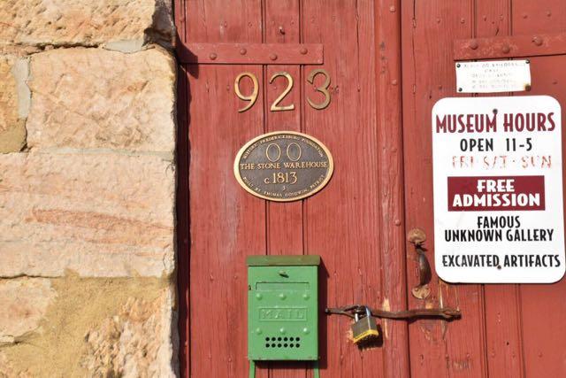 old stone warehouse, Fredericksburg