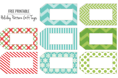 Free Printable Gift Tags - The Frugal Female