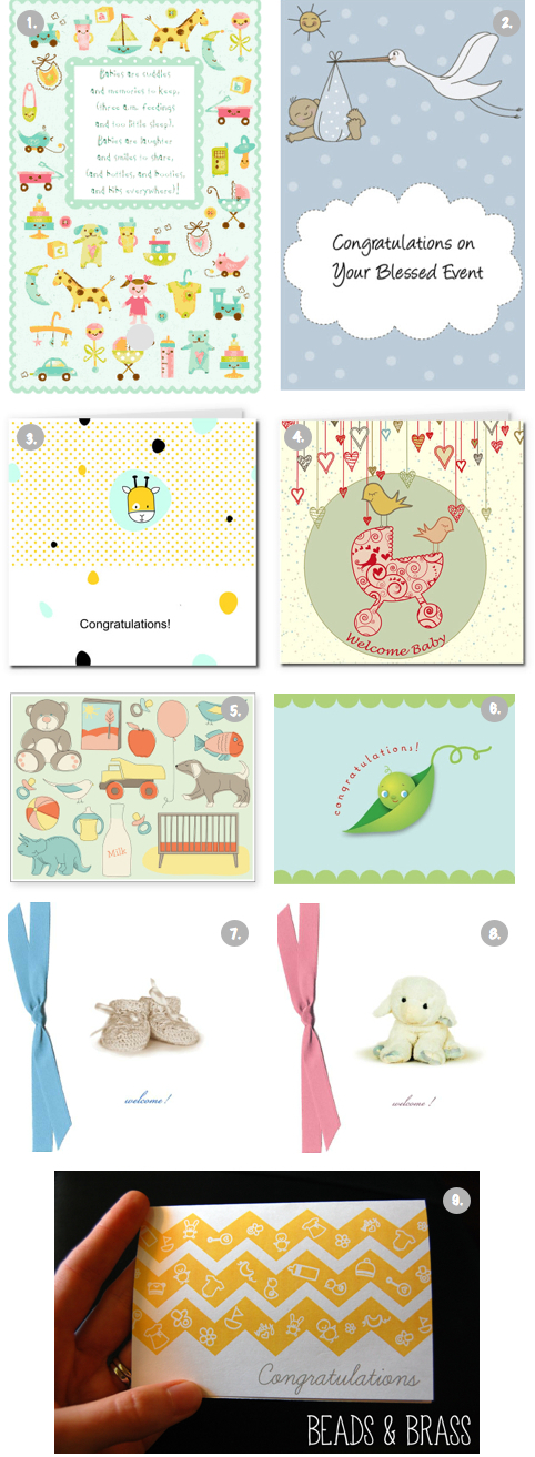9 Free \ - free printable congratulations baby cards