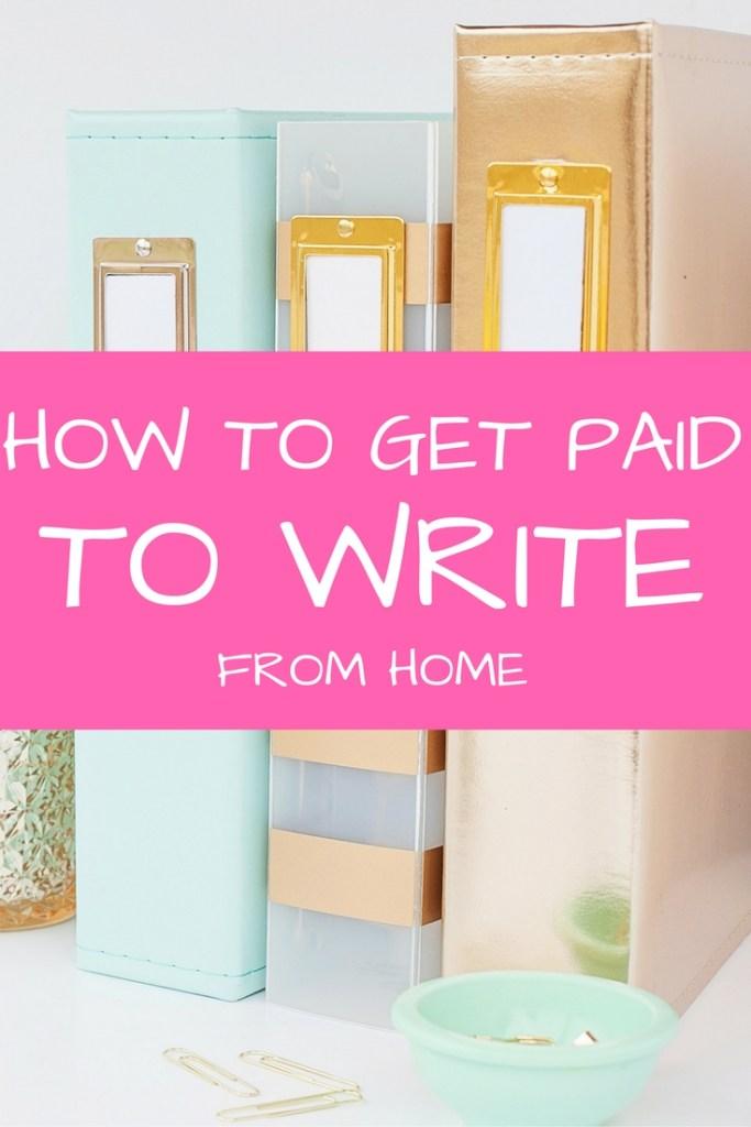 Pay to write