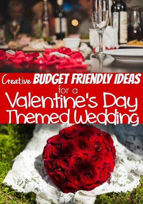 Budget Wedding Ideas for a Valentine\u0027s Day Themed Wedding